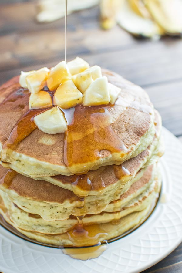 Healthy Banana Pancakes – Cooktoria